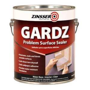 Zinsser 2301 Gardz Interior Problem Surface Sealer Clear Gallon