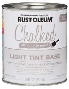 Rust-Oleum 287688 Chalked Ultra Matte Light Tint Base