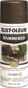 Rust-Oleum 7218830 Stops Rust Interior/Exterior Hammered Spray Paint Dark Bronze