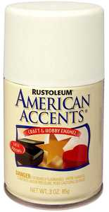 Rust-Oleum 209690 American Accents Craft Enamel Spray Paint Blossom White