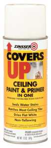 Zinsser 03688 Covers Up Ceiling Paint And Primer In One Flat White 13-Ounce