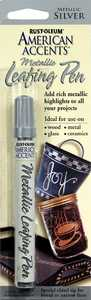 Rust-Oleum 215191 American Accents Metallic Leafing Pen Silver