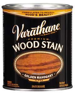 Varathane 211718H 1-Quart Satin Golden Mahogany Wood Stain