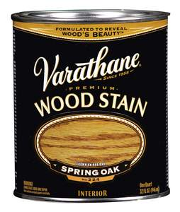Varathane 211715H 1-Quart Satin Spring Oak Wood Stain