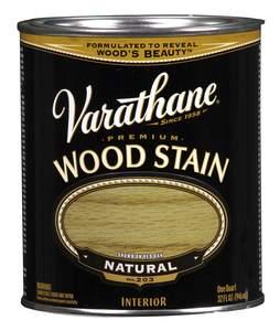 Varathane 211688H 1-Quart Satin Natural Wood Stain