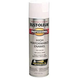 Rust-Oleum 239108 Professional Interior/Exterior Enamel Spray Paint White