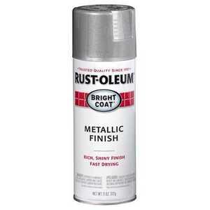 Rust-Oleum 7715830 Stops Rust Interior Metallic Spray Paint Aluminum
