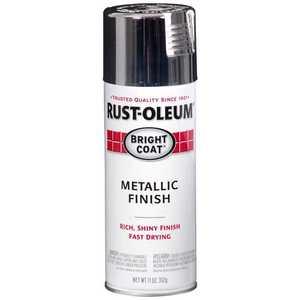 Rust-Oleum 7718830 Stops Rust Interior Metallic Spray Paint Chrome