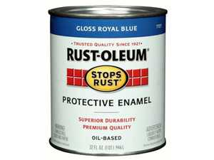 Rust-Oleum 7727502 Stops Rust Paint Royal Blue Qt