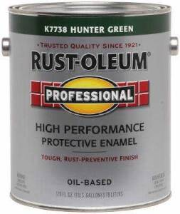 Rust-Oleum 7738402 Stops Rust Paint Hunter Green Gal