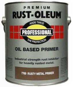 Rust-Oleum 7769402 Rusty Metal Primer Professional Gal