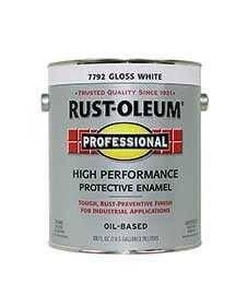 Rust-Oleum 7792402 Stops Rust Gloss White Gal