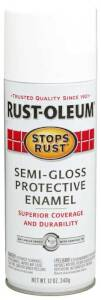 Rust-Oleum 7797830 Stops Rust Interior/Exterior Enamel Spray Paint White