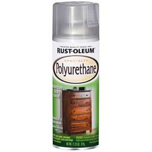 Rust-Oleum 7870830 Interior Specialty Polyurethane Clear Gloss Finish 11-1/4-Ounce Can