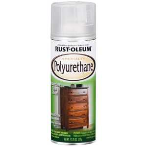 Rust-Oleum 7872830 Interior Specialty Polyurethane Clear Satin Finish 11-1/4-Ounce Can