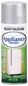 Rust-Oleum 7887830 Specialty Appliance Epoxy Spray Paint Stainless