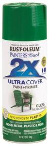 Rust-Oleum 249100 Painter's Touch Spray Paint And Primer Meadow Green