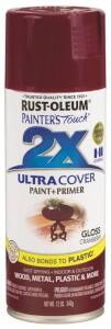 Rust-Oleum 249863 Painter's Touch Spray Paint And Primer Cranberry