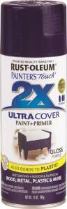 Rust-Oleum 249097 Painter's Touch Spray Paint And Primer Purple