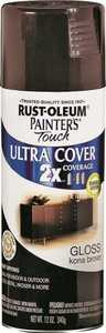 Rust-Oleum 249102 Painter's Touch Spray Paint And Primer Kona Brown