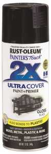 Rust-Oleum 249122 Painter's Touch Spray Paint And Primer Black