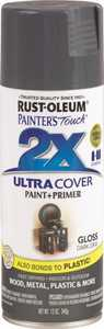 Rust-Oleum 249115 Painter's Touch Spray Paint And Primer Dark Gray