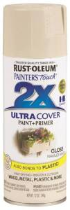 Rust-Oleum 249099 Painter's Touch Spray Paint And Primer Navajo White