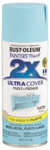 Rust-Oleum 249085 Painter's Touch Spray Paint And Primer Aqua