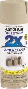 Rust-Oleum 249080 Painter's Touch Spray Paint And Primer Fossil