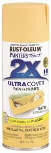 Rust-Oleum 249064 Painter's Touch Spray Paint And Primer Summer Squash