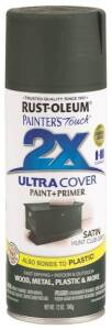 Rust-Oleum 249074 Painter's Touch Spray Paint And Primer Hunt Club Green