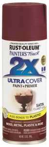 Rust-Oleum 249083 Painter's Touch Spray Paint And Primer Claret Wine