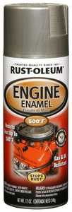 Rust-Oleum 248949 Automotive Engine Enamel Spray Paint Aluminum
