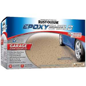 Rust-Oleum 251966 EpoxyShield Tan Garage Floor Coating Kit