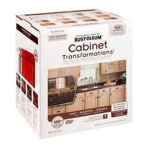 Rust-Oleum 258109 Cabinet Transformations Refinishing Kit Small Light Tint Base