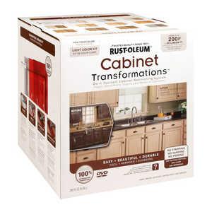 Rust-Oleum 258241 Cabinet Transformations Refinishing Kit Large Light Tint Base