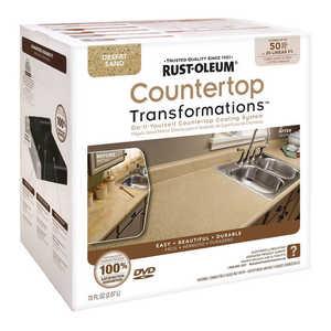 Rust-Oleum 258286 Countertop Transformations Refinishing Kit Large Desert Sand