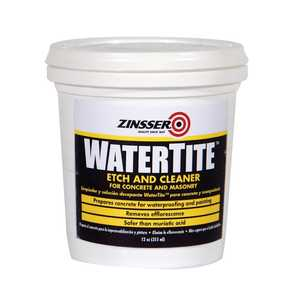 Zinsser 05082 Watertite Etch And Cleaner 12-Ounce