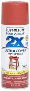 Rust-Oleum Painter's Touch  249068 12-Ounce Satin Paprika Spray Paint