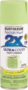 Rust-Oleum 249077 Painter's Touch Spray Paint And Primer Green Apple