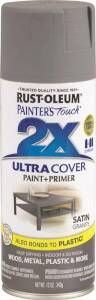 Rust-Oleum 249078 Painter's Touch Spray Paint And Primer Granite