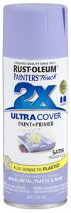 Rust-Oleum Painter's Touch  249079 12-Ounce Satin French Lilac Spray Paint