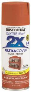 Rust-Oleum 249084 Painter's Touch Spray Paint And Primer Cinnamon