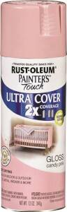 Rust-Oleum 249119 Painter's Touch Spray Paint And Primer Candy Pink