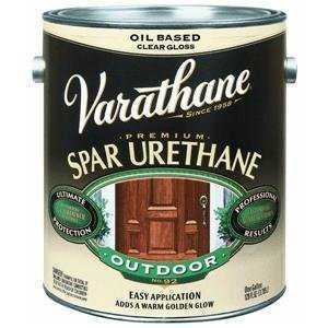 Varathane 9441H Diamond Outdoor Spar Urethane Semi Gloss Qt