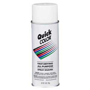 Quick Color J2850830 Quick Color Spray Paint White