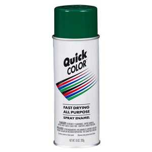 Quick Color J2854830 Quick Color Spray Paint Green