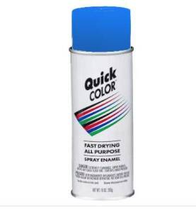 Quick Color J2856830 Quick Color Spray Paint Blue