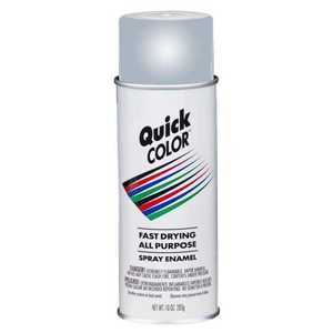 Quick Color J2857830 10-Ounce Gray Spray Paint