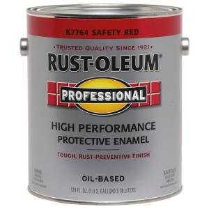 Rust-Oleum K7764402 Safety Red Low Voc Gloss Enamel